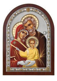 Icone Sacra Famiglia (15x20)