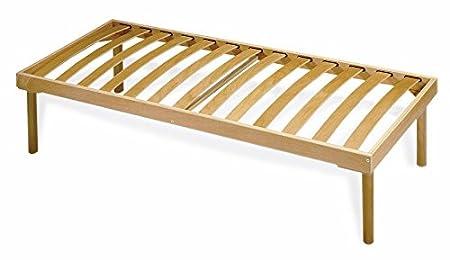 Rete a doghe in legno naturale ed ergonomica - 90x190