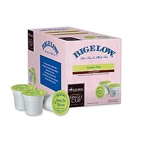 Keurig Bigelow Green Tea 18 pack keurig k-cups