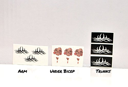 Goldberg TATTOO DECALS FOR FIGURE Bill Goldberg tattoos Custom Wrestling Fix Up (Wwe Figures Cheap compare prices)