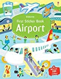 img - for Usborne First Sticker Book Airport book / textbook / text book