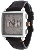 Hugo Boss - 1512145 - Montre Homme - Quartz Chronographe - Chronomètre - Bracelet Cuir Marron