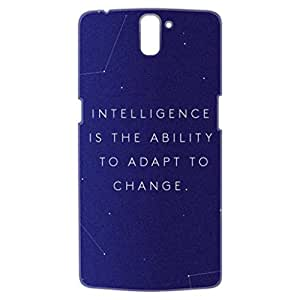 a AND b Designer Printed Mobile Back Cover / Back Case For OnePlus One (1Plus1_3D_3031)