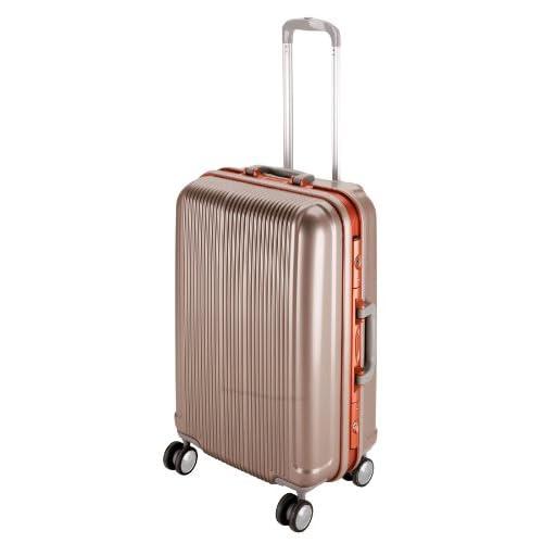 キャプテンスタッグ(CAPTAIN STAG) グレル トラベルスーツケース TSAロック付きHFタイプ L シャンパンベージュ UV-1