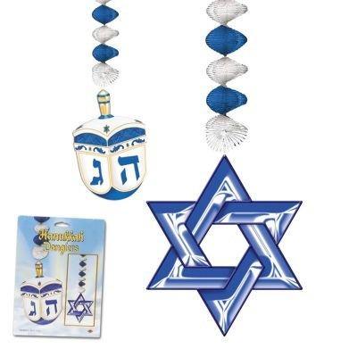 "BEISTLE COMPANY 30"" Hanukkah Danglers"