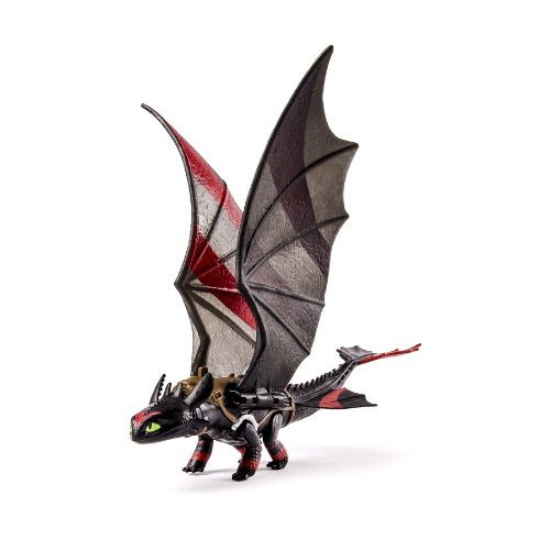 Dreamworks Dragons, How To Train Your Dragon 2 Toothless Power Dragon (Extreme Wing Flap Action) front-987597