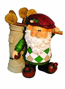 Woodland Wilf Gets A Hole In One Polyresin Garden Gnome