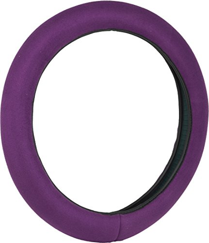 Bell Automotive 22-1-97052-9 Universal Stress Releiver Hyper-Flex Core Steering Wheel Cover, Purple (Steering Wheel Cover Bell compare prices)