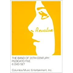 THE BAND OF 20TH CENTURY : PIZZICATO FIVE THE SIX DVD SET