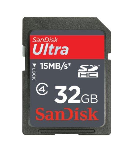 SanDisk Ultra SDHCカード 32GB Class4 SDSDH-032G-J95