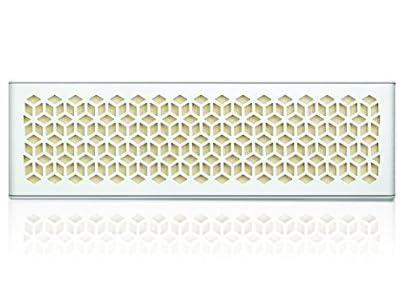 CREATIVE MEDIA MUVO miniホワイトNFC Bluetooth 防水 防塵 バスラジエーター搭載 ポータブルスピーカー SP-MVM-WH
