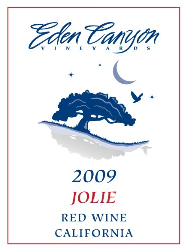 Eden Canyon Vineyards 2009  Jolie Bordeaux Style Red Wine 750 mL