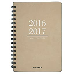 AT-A-GLANCE Academic Year Weekly / Monthly Planner / Appointment Book, July 2016 - July 2017, 5-3/8 x 8-1/2\