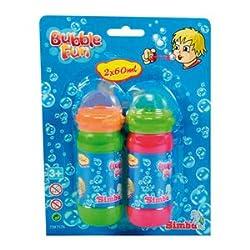Simba Bubble Fun Bubble Liquid Set (60ml)