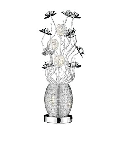 Light Points South Beach Table Lamp, Silver