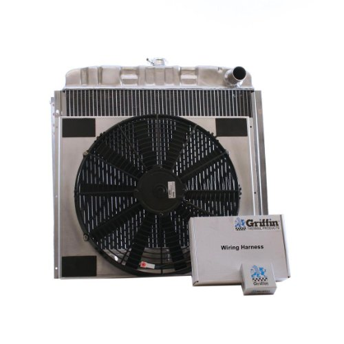 Griffin Radiator Cu-00037 Combounit Radiator And Electric Fan Kit