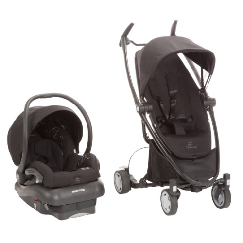Quinny Zapp Xtra Mico Ap Travel System, Black front-915809