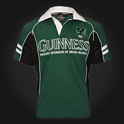 Guinness Green Badge Perforated Rugby