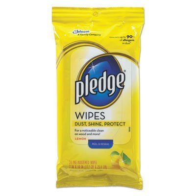 lemon-scent-wet-wipes-cloth-7-x-10-white-24-pack-sold-as-1-package-24-each-per-package-by-pledge