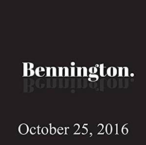 Bennington, Mary Steenburgen, October 25, 2016 Radio/TV Program