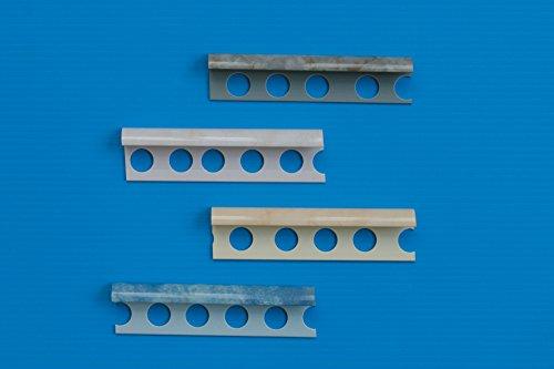 PROFILO JOLLY PVC 8X2,5 MARMORIZZATO ROSA PORT(BEIGE) Confezione da 40PZ