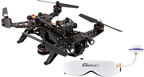 XciteRC 15003650 - FPV Racing-Quadrocopter Runner 250 RTF - FPV-Drohne mit HD Kamera
