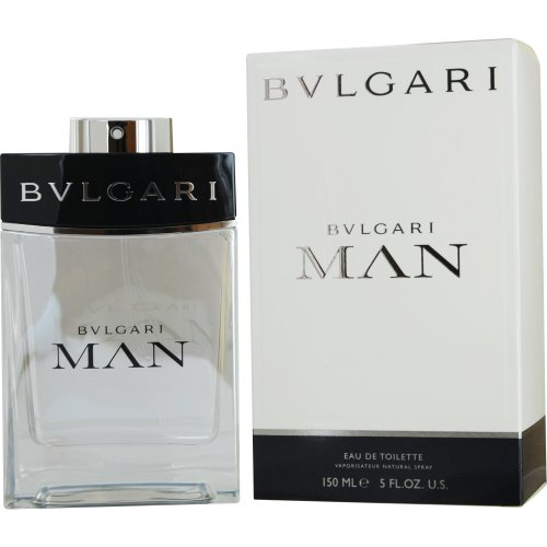 Bvlgari Man Eau de Toilette Spray for Men, 5