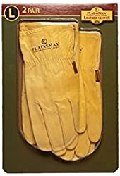 Plainsman Cabretta Leather Gloves- Large - 2 Pair