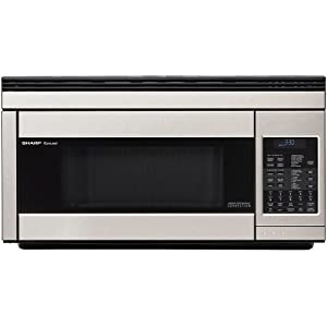 Sharp 1.1-Cubic-Foot 850-Watt Over-the-Range Convection Microwaves at Sears.com