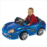 Excalibur Electronics Blue Ride-On Car, Model# 9343B