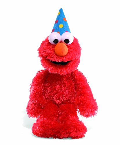Gund Happy Birthday Elmo  with sound (Personalized Elmo Gifts compare prices)