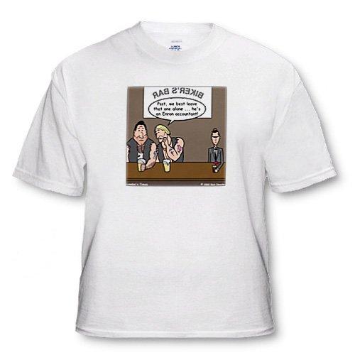 Enron Accountant at Biker Bar - Toddler T-Shirt (3T)