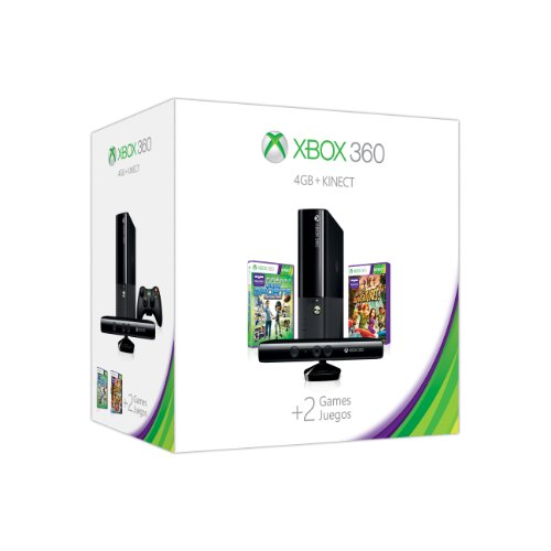 Xbox 360 4GB Kinect Holiday Value Bundle image