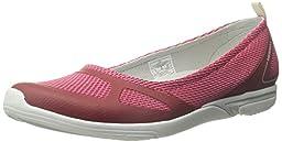 Merrell Women\'s Ceylon Sport Ballet Slip-On Shoe, Red, 7.5 M US