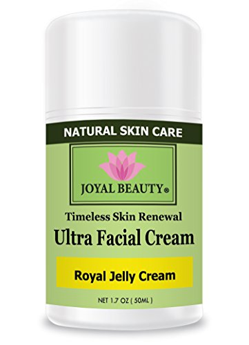 Royal Jelly Cream by Joyal Beauty-Ultra Facial Cream.Enriched with Bee Propolis,Honey.Royal jelly -World's Most Nutrient-rich Substances, Packed with Vitamins A, B, C, D, E, K. Soothe and Nourish.