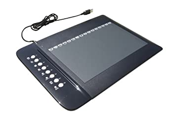 Tursion Particular Drawing Tablet With 8 Hot Key, 10 X 6.25 Inches