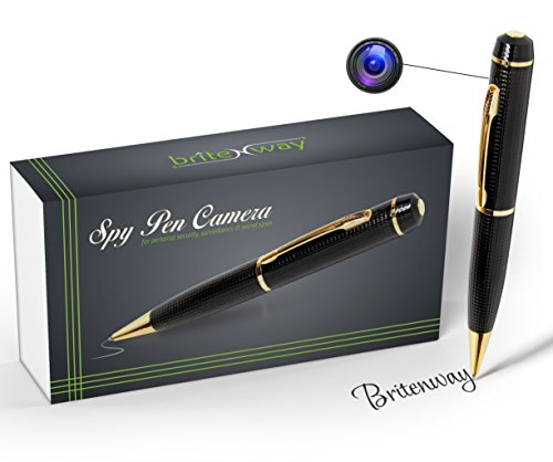 Best Price! Spy Pen Camera – Tech Gadget -1280*720 High Reslution DVR, Video Camcorder, Webcam, Pictures & Audio – Best Quality Business Portable – Mini Security & Surveillance Secret Agent -with free 8GB SD Card