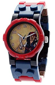 LEGO Kids' 9004094 Pirates of the Caribbean Jack Sparrow Watch