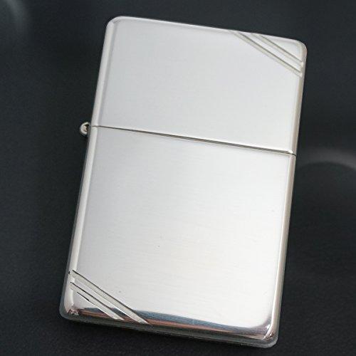 ZIPPO(ジッポー) スターリングシルバー(純銀無垢) 14 ビンテージ フラットトップ 純正 定番 無地 ライター 【MKN】