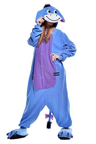 Eeyore Pajama Costume (Standard) front-601647