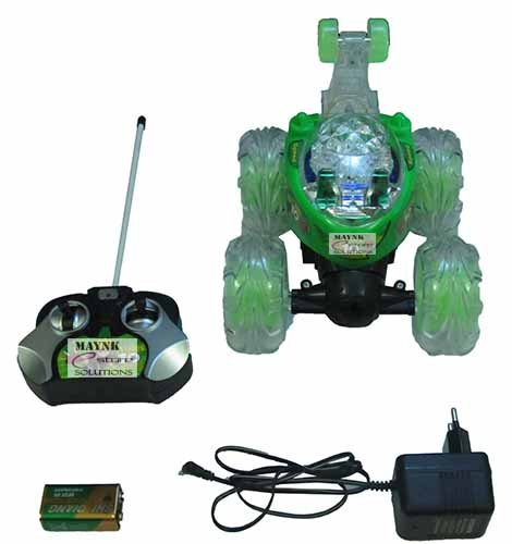 buy rechargeable stunt racer remote control battery operated rc music car toy online at low prices in india amazonin