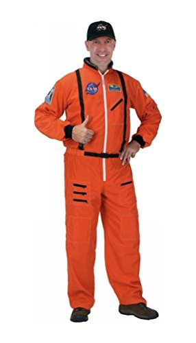 Astronaut Adult Costume - Orange Suit