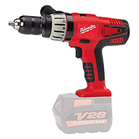 Bare-Tool Milwaukee 0724-20 V28 28-Volt 1/2-Inch Lithium Ion Cordless Hammer/Driver Drill (No Battery)