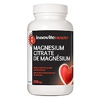 INNOVITE Magnesium Citrate w Malic Acid ( 250 mg - 200 caps)