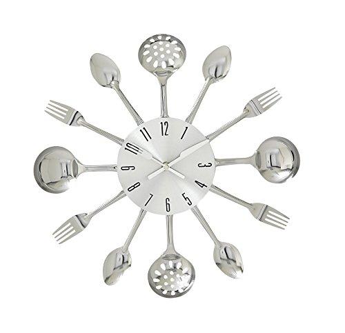 Deco 79 66985 Fabulous Metal Kitchen Wall Clock, 15