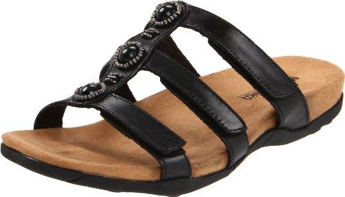 Minnetonka Womens Wilshire Slide Sandal