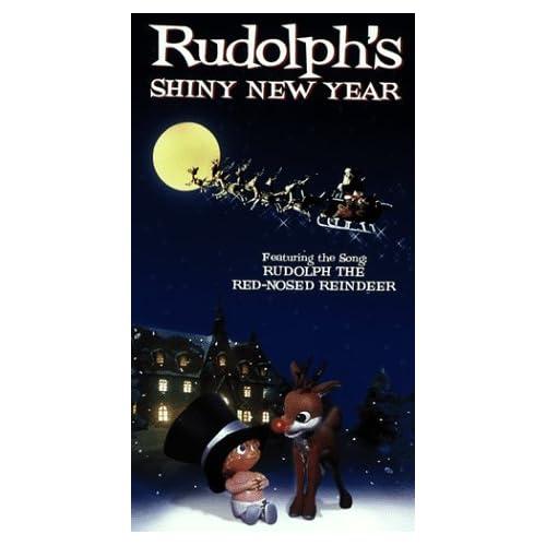 Amazon.com: Rudolph's Shiny New Year [VHS]: Red Skelton, Frank Gorshin