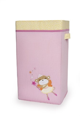 Carter's Collapsible Hamper, Fairy Monkey (Discontinued by Manufacturer)