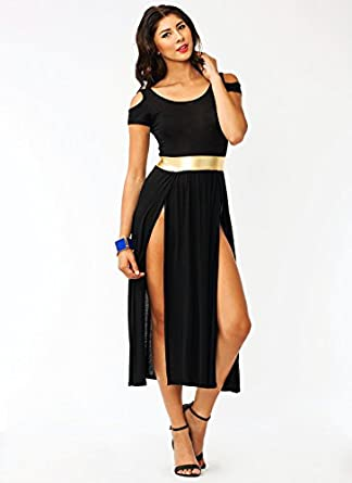 Cold Shoulder Warrior Dress