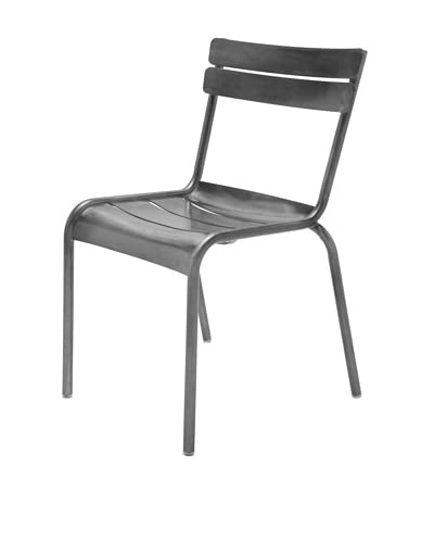 Industrial Chic Marcel Chair, Gunmetal As You See